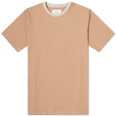 Folk 1X1 Stripe Tee