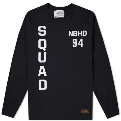 Neighborhood Long Sleeve Squad Tee