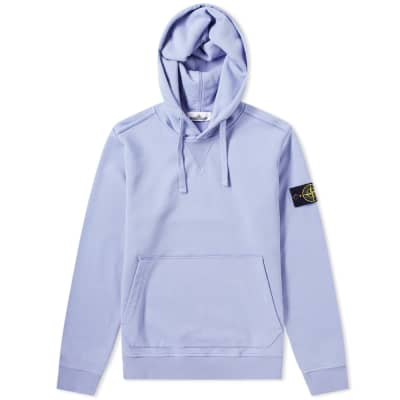 Stone Island Garment Dyed Popover Hoody ... 6dc077bb568