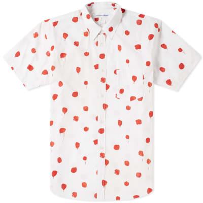 Comme des Garcons SHIRT Short Sleeve Polka Dot Print Shirt