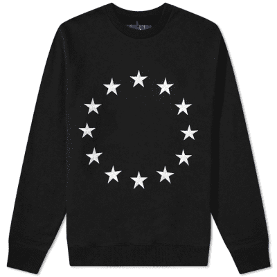 Études Story Europa Embroidered Stars Sweat