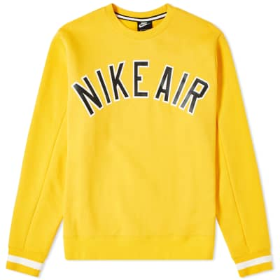 048db7c1fa86 Nike Air Fleece Crew Sweat ...