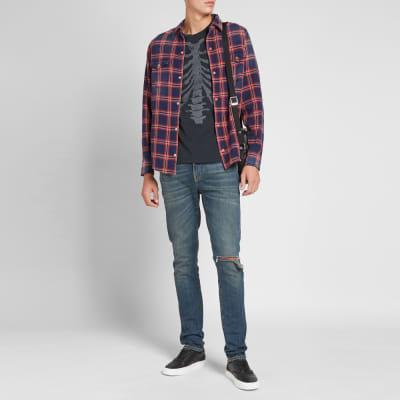Alanui Flannel Check Shirt