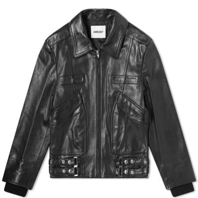Ambush Leather Biker Jacket