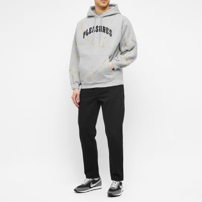 PLEASURES Destroyer Contrast Stitch Hoody