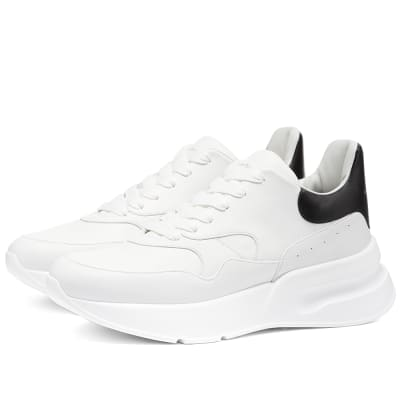 super popular 15ffb b0c25 Alexander McQueen Oversized Runner Alexander McQueen Oversized Runner ·  Alexander McQueen Oversized Runner Optic White   Black