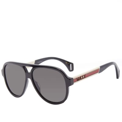 38901e5a913 Gucci Sport Aviator Sunglasses ...