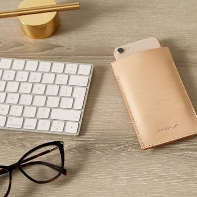 Minimalux Leather iPhone 6/7 Sleeve