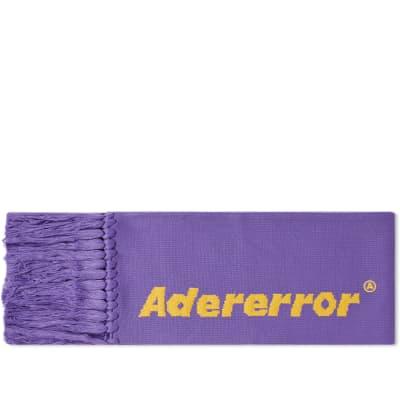 ADER error Fringe Text Logo Scarf