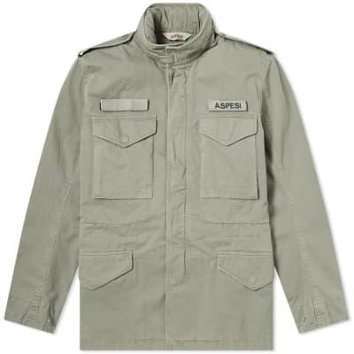Aspesi M65 Logo Military Field Jacket