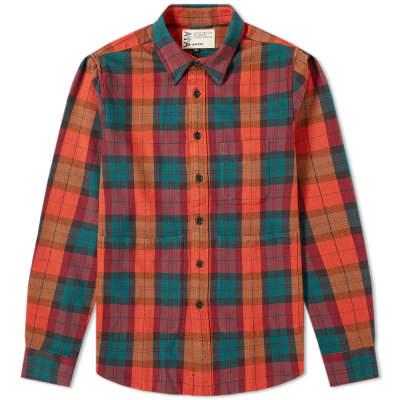 Aspesi UT Checked Overshirt