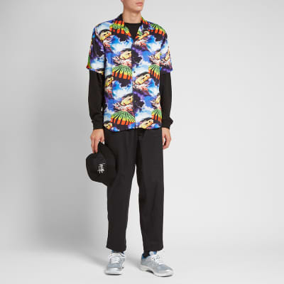Assid Short Sleeve Hawaiian Autobahn Shirt