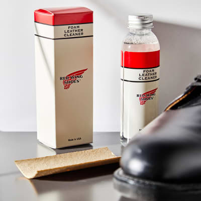 Red Wing Foam Leather Cleaner