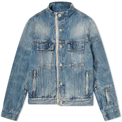 Unravel Project Denim Zip Jacket