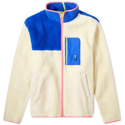 ADER error Colour Block Fleece Jacket