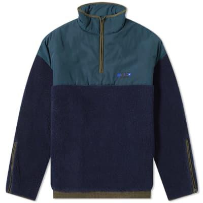 ADER error Oversized Half Zip Fleece