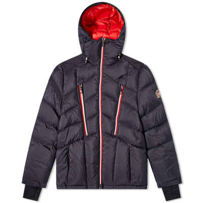 Moncler Grenoble Arnensee Tricolore Zip Down Ski Jacket