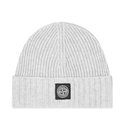 Stone Island Junior Patch Logo Beanie Hat