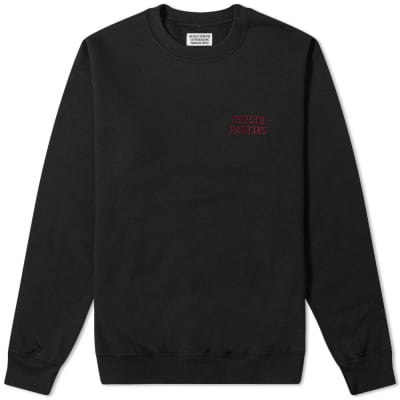 Wacko Maria Guilty Parties Embroidered Crew Sweat