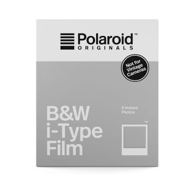 Polaroid Originals B&W i-Type Film