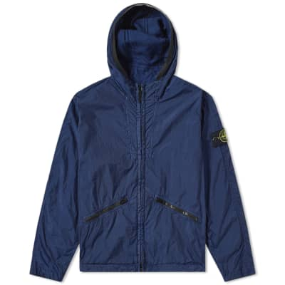 Stone Island Crinkle Reps Hooded Jacket ... 89d5c3dd795