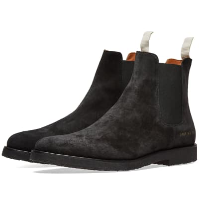3c3da7eb9d9806 Common Projects Chelsea Boot Suede ...