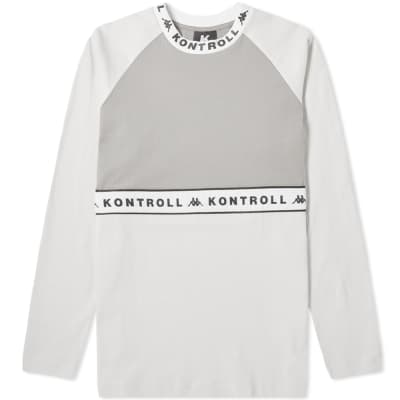Kappa Kontroll Long Sleeve Taping Tee