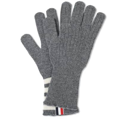 Thom Browne Cashmere 4 Bar Glove