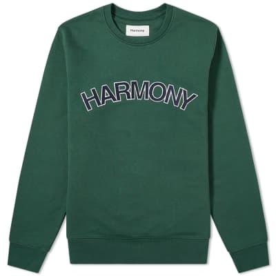 Harmony Suny Logo Crew Sweat