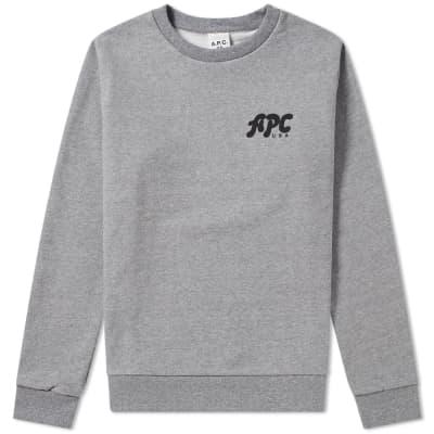 A.P.C. U.S. Jacques Logo Sweat