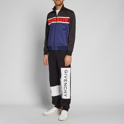 Givenchy Towelling Logo Track Top