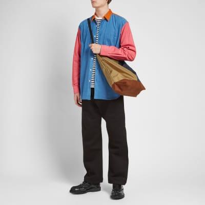 Comme des Garcons SHIRT Patchwork Corduroy Shirt