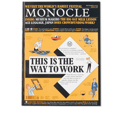 Monocle: The Way To Work. Issue 126, September 19