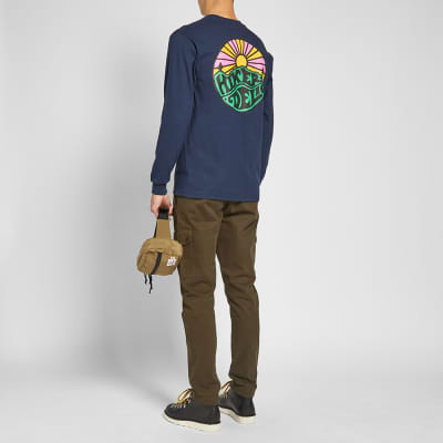 Hikerdelic Long Sleeve Original Logo Tee