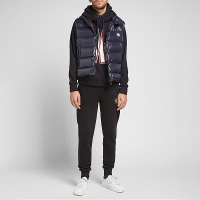 Moncler Grenoble Large Embroidered Logo Hoody