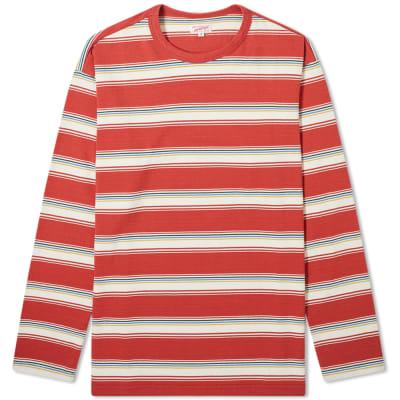 Arpenteur Long Sleeve Match Stripe Tee