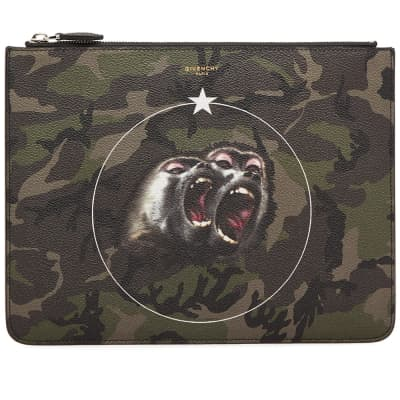 Givenchy Large Monkey Brothers Zip Pouch