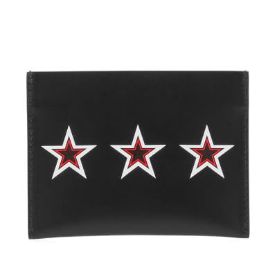 Givenchy Tricolour Star Card Holder