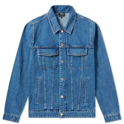 186c726848d A.P.C. Charles Washed Denim Jacket ...