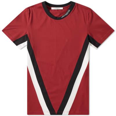 Givenchy V Band Logo Collar Tee