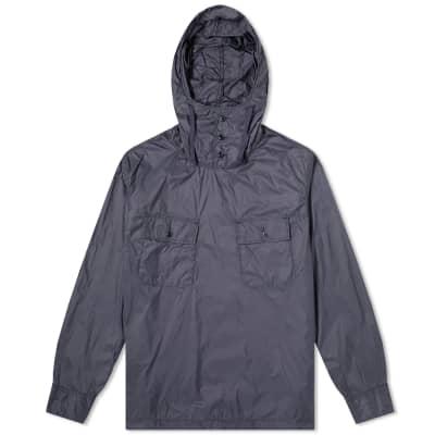 c9d05fcae40 Engineered Garments Cagoule Popover Nylon Taffeta Shirt Jacket ...