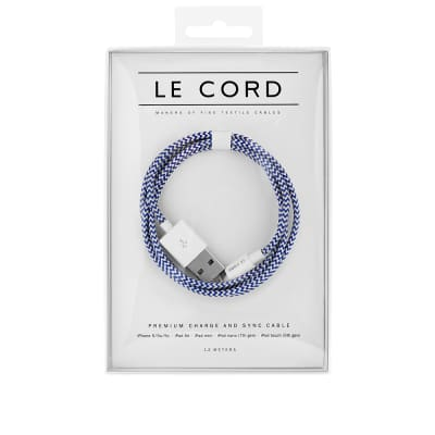 Le Cord Broken Ocean 1.2m Lightning Cable