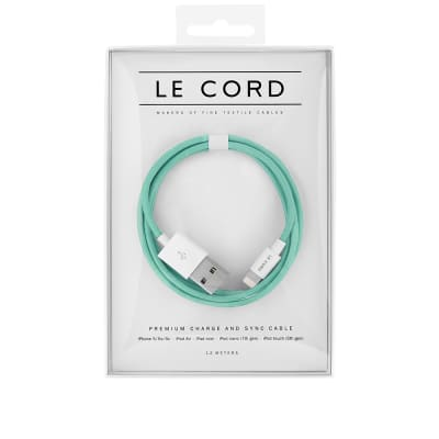 Le Cord Solid Robin Braided 1.2m Lightning Cable