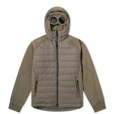 C.P. Company Undersixteen Shell Down Goggle Jacket