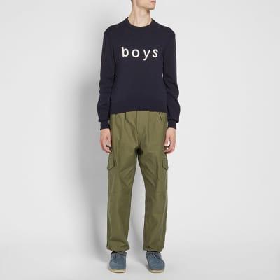 Comme des Garcons SHIRT BOYS Logo Crew Knit