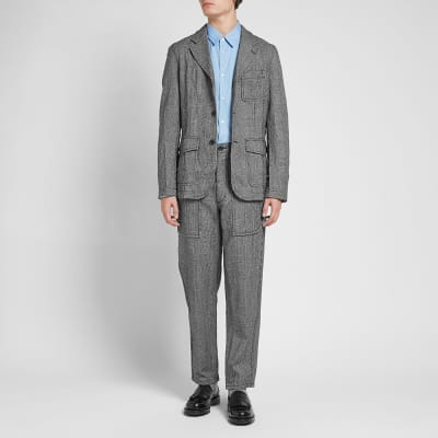 Comme des Garcons SHIRT Prince Of Wales 3 Button Blazer