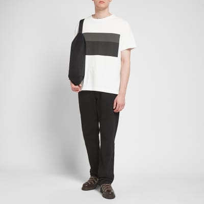 MHL. by Margaret Howell Two Tone Print Tee