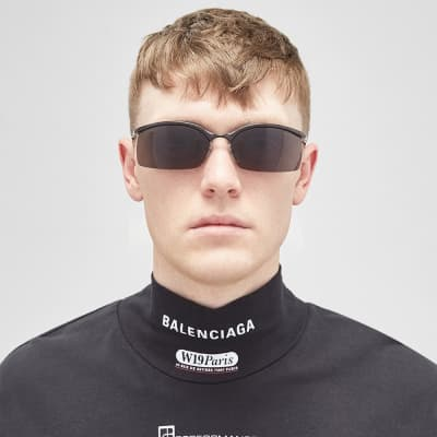 Balenciaga Fire Sunglasses