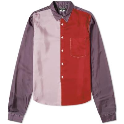 Comme des Garcons Homme Plus Patchwork Panel Shirt