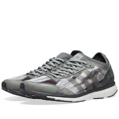 Adidas x Undefeated Ultra Boost Shift Grey, Cinder & Black